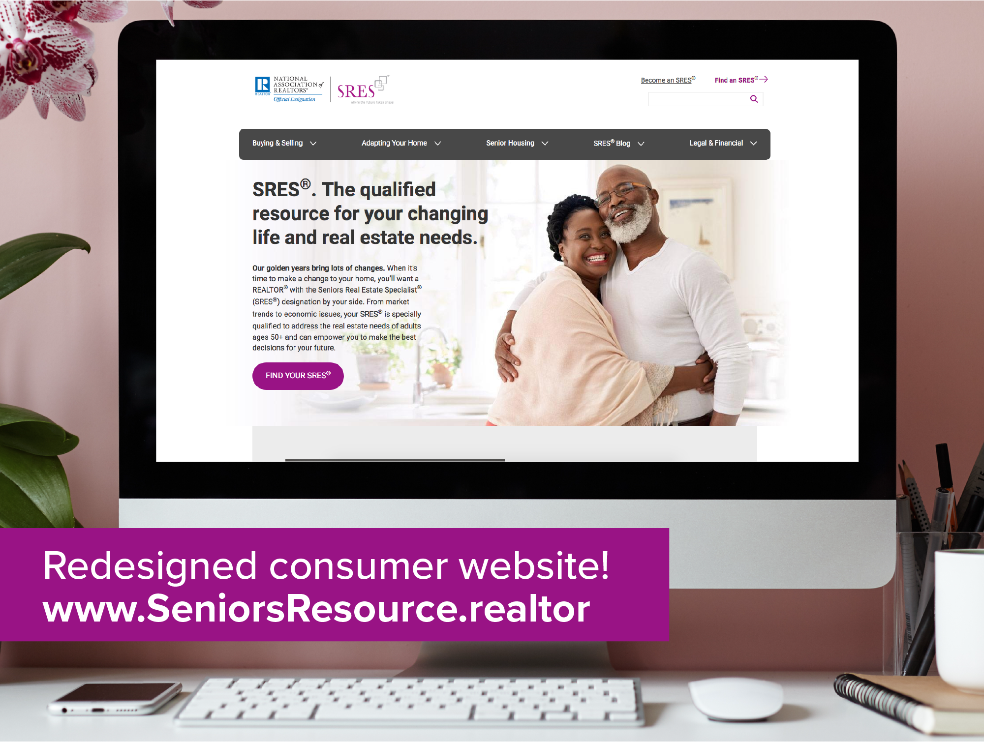 SRES® consumer site announcement